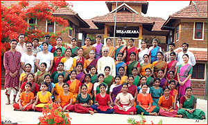 Summer Camp for dancers in the hills of Kerala
