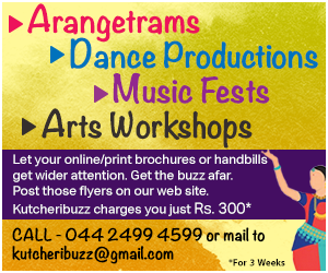 Advertise your arangetram