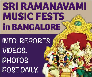 Sri Ramanavami Music Festival 2017 in Bangalore