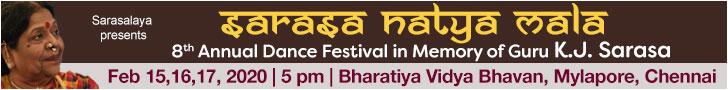 Sarasa Natya Mala annual dance festival