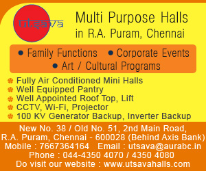 Utsava Multi purpose Halls in R.A. Puram