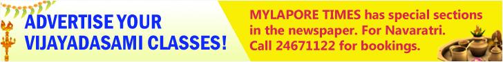 Vijayadasami Advt booking