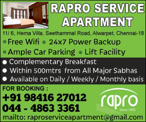 Rapro service Apartment