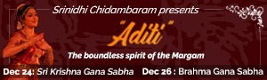 Dr. Srinidhi Chidambaran Aditi spirit of the Margam