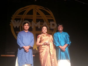 Sudha Ragunathan at WOMAD fest, New Zealand